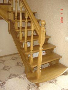 Дубові сходи, фото №1