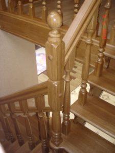Дубові сходи, фото №2