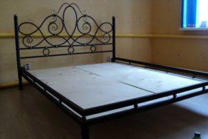 Коване ліжко, фото №7