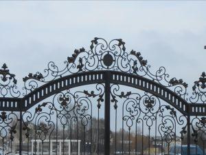 Ковані ворота, фото №2