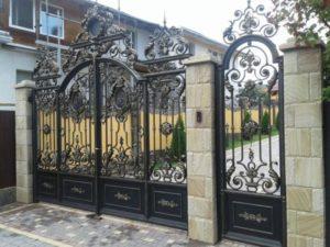 Ковані ворота, фото №3