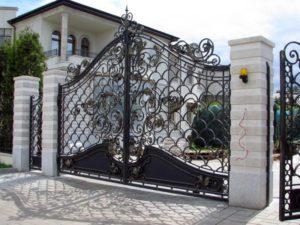 Ковані ворота, фото №4