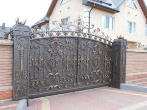 Ковані ворота, фото №5