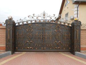 Ковані ворота, фото №6