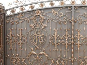 Ковані ворота, фото №7