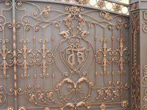 Ковані ворота, фото №8